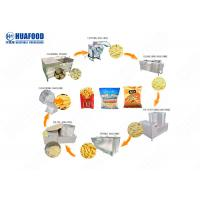 Buy cheap Continuous Potato Frying Machine Industrial French Fries Frying Machine from wholesalers