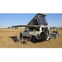 Triangle Shaped Hard Shell Roof Top Tent Fireproof For Cars And Trucks Manufactures