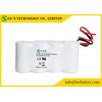 4.8V SC2500mah Nickel Metal Hydride Battery For MP3 High Energy Density Manufactures
