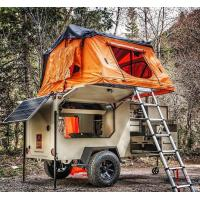 Easy Installation Roof Rack Awning Tent , Breathable Car Awning Tent For 3 Person Manufactures