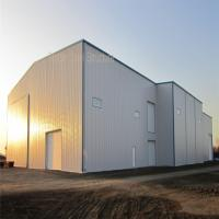 Light Steel Structure Prefab Hangar with BV Certificate and nice apprance Manufactures