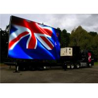 Full Color Mobile Truck LED Mobile Billboard SMD2727 LED Type Easy To Operate Manufactures