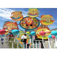 6 Cabins Rotating Amusement Park Ferris Wheel With Galvanized Steel Material Manufactures