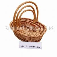 Straw Basket/Willow Basket/Wicker Basket (SWB414131B) Manufactures