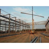Pre-engineering industrial design Portal Frame Heavy Duty Steel Structure Factory Building Manufactures