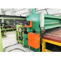 Buy cheap Green Gabion Wire Mesh Machine 2300mm Max. Netting Width For Slope Revetment from wholesalers