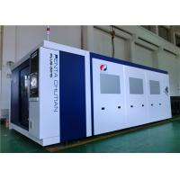 High Efficiency Stable Metal Laser Cutting Machine 12000W For Mild Steel Manufactures