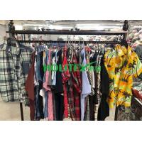 Buy cheap Adults 2nd Hand Mens Clothing , Second Hand Used Clothes Mens Shirts Short from wholesalers