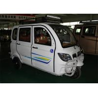 Enclosed Motor Assisted Tricycle , 200 CC Passenger 2700 MM Length Cargo Tricycle Motorcycle Manufactures