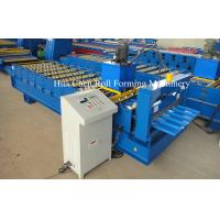 CNC Colored Steel Roofing Sheet Roll Forming Machine For Steel Roof And Wall Manufactures