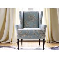 Hotel Bedroom Furniture Wooden Lounge Accent Chair For Waiting Lobby Areas Manufactures