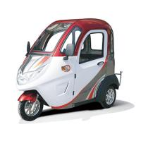 4m Braking Distance 60V 32Ah Enclosed Electric Tricycle Manufactures