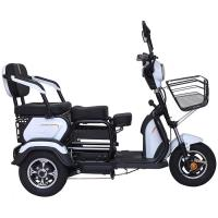 Front Basket 20Ah 60V Three Wheel Electric Scooter Manufactures