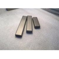 Hip Processed Carbide Wear Strips , Professional Tungsten Carbide Square Bar For Vsi Crusher Machine Manufactures