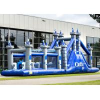 Playground Adult Inflatable Obstacle Course Adrenaline Rush OEM Service Manufactures