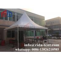 Buy cheap UV Resistant Pagoda Party Tent With 850g Transparent Pvc Fabric Roof Cover from wholesalers