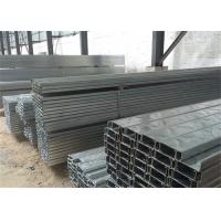 Building Material Galvanised Steel Purlins Z Section 150 To 300mm For Roofing Manufactures