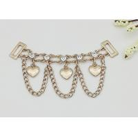 High Heel Shoe Accessories Chains Customized Color Corrosion Resistant Manufactures