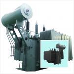 Double Column Electrical Power Transformer 35kV - 6300kVA Low Loss SZ Series Manufactures