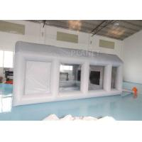 Automotive Workstation Inflatable Spray Booth Double Stitching Manufactures