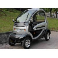 720mm Wheel Base Mini Electric Car 60V 1000W Manual Brake With Vacuum Tyre Manufactures