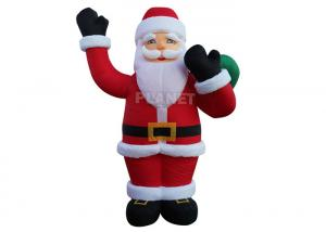 Custom Advertising Christmas Inflatable Santa Inflatable Santa Claus For Holiday Celebrate Manufactures