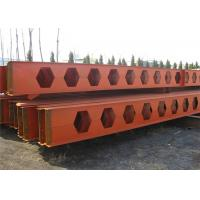 Honeycomb Structural Steel Beams Q235b Q345b Grade For Main Support Manufactures
