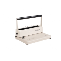 Manual Comb 300mm Width Document Binding Machine Portable For Office Manufactures