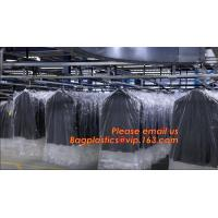 Clear Polyethylene Dry Cleaning Garment Bags On Rolls, Dry clean perforated clear poly plastic garment/laundry/clothing Manufactures