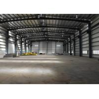 Structural Cold Rolled Q235B Prefabricated Metal Buildings Manufactures
