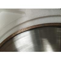 Metal Bonded Diamond Cup Grinding Wheel Abrasive Sharpening Arc For Glass Manufactures