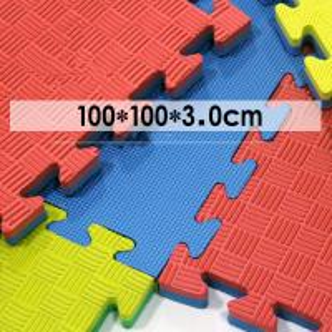 High Quality 100% EVA High Density  Judo Mat Tatami 4CM EVA Taekwondo Tatami Puzzle Martial Arts Mat Manufactures