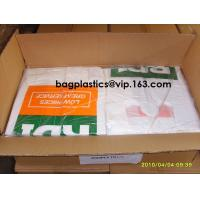 Compost bags Corn Starch Bags Factory Price OK Compost 100% Corn Starch Biodegradable T-Shirt Carry Bags Manufactures