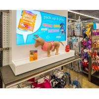 Different Color Digital Interactive Showcase Information Interaction For Fashion Promotion Manufactures