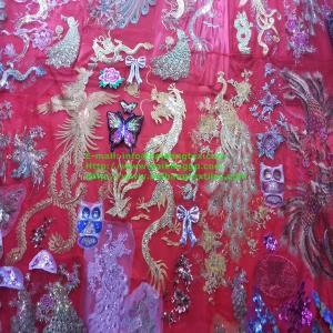 MESH LASER SEQUIN fabric Manufactures