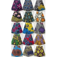 100% Cotton Africa wax printing fabric Manufactures