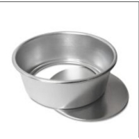 Rustproof 10 Inch 254x248x79mm Small Round Baking Tray Manufactures