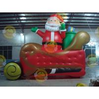 Giant Inflatable Balloon Santa Claus For Christmas Decoration Manufactures