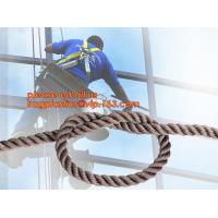 wall-wash nylon twisted safety rope, wall-wash nylon safety rope Manufactures