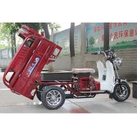 Weight 250Kg Gas Powered Tricycle 125CC Engine Water Cooling Optional Colour Manufactures