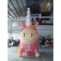Attractive Large Inflatable Unicorn , Customized Durable Unicorn Balloon Manufactures