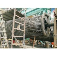 Steel Single High Efficiency Cyclone Dust Collector , Industrial Cyclone Dust Collector Manufactures