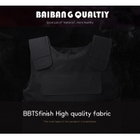 Factory direct sales of stab-resistant clothing, security protection vest, campus guard, security duty hard stab-resista Manufactures