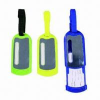 Luggage Tags in Various Designs, Customized Printings are Accepted Manufactures
