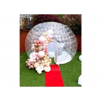 4m Transparent Inflatable Tent Camping Blow Up Tent Outdoor Events Waterproof Inflatable Bubble Dome Tent Manufactures