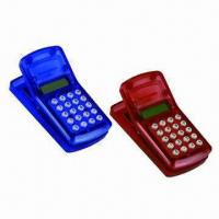 Calculators CLIP, Transparent Shell Available, Customized Logos are Accepted Manufactures