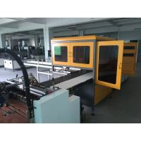 Durable Automatic Visual Positioning Machine , Sweet Box Machine Reduce Waste Manufactures