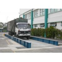Simple Structure Load Scales For Trucks , 80 Ton Weighbridge U Steel Scale Body Manufactures