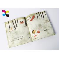 Cartoon Custom Book Printing Services , Children Perfect Bound Book Printing Manufactures