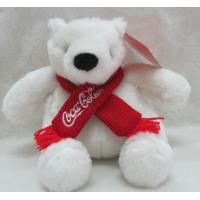 China Coca Cola Bear Polar Bear Plush Toys on sale